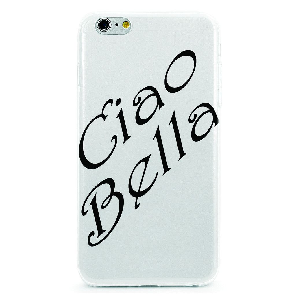 Italian Love Quotes Love Quote Italian Ciao Bella  Silicone Phone Case And Products