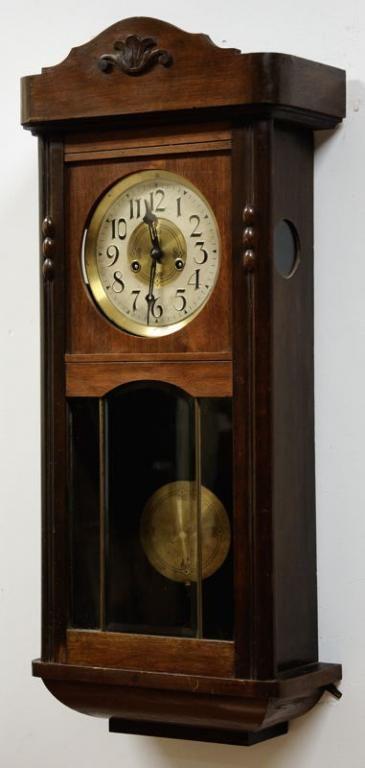 Gustav Becker Legendarny Zegar Wiszacy Antyk 170 4666208751 Oficjalne Archiwum Allegro Antique Wall Clocks Craftsman Wall Clocks Wall Clock