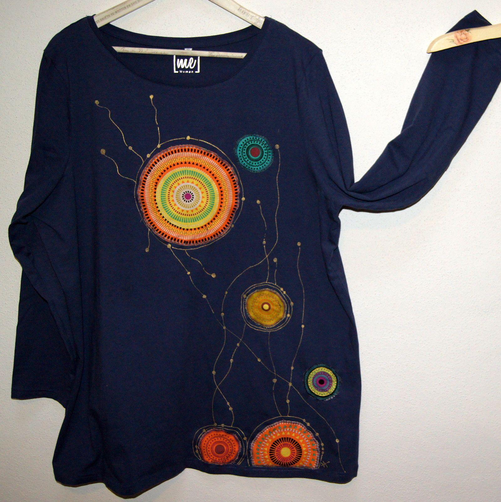 c9c46428dd8 Podzimní triko malované