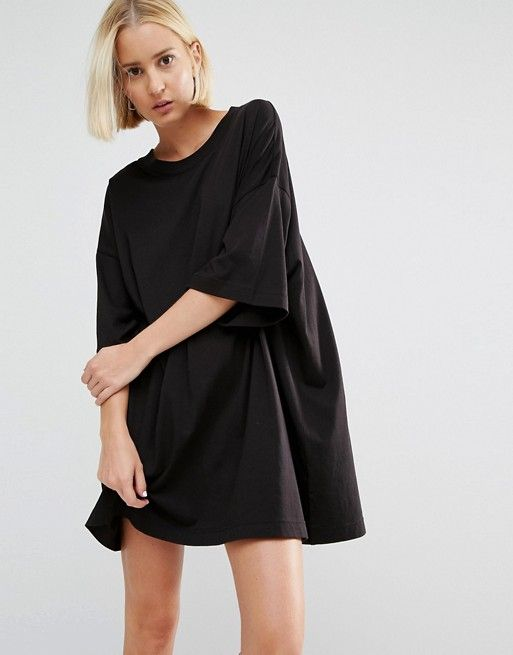 2019 In Dress Weekday Dresses Fall Black T Shirt 17 Huge pqwRURAgT6
