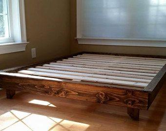 modern floating platform bed frame - Wood Platform Bed Frame