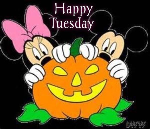Happy Tuesday quotes quote disney halloween days of the ...