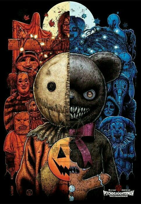 Trick R Krampus Horror Artwork Scary Art Horror Drawing