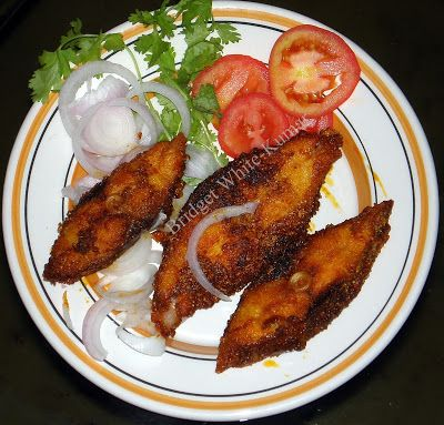 Fried Fish Fried Pomfret Slices Fried Fish Indian Food Recipes Fish Fry Recipe Indian