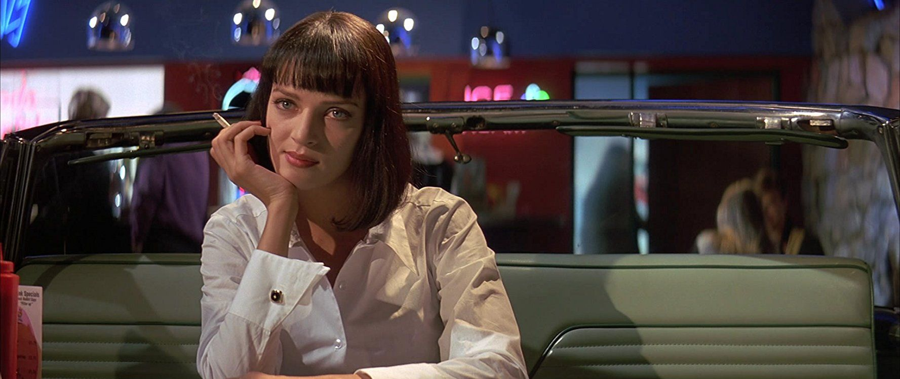 Uma Thurman In Pulp Fiction 1994 Costume Essay