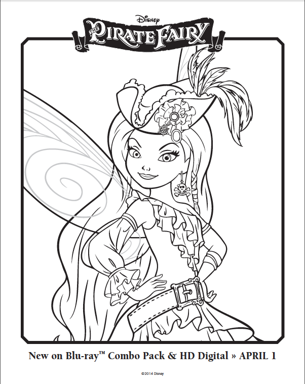 Free Pirate Fairy Coloring Pages Coloring Book Fairy Coloring