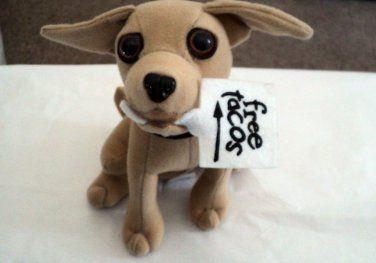 Vintage 90 S Taco Bell Chihuahua Yo Quiero Singing Plush Dog T