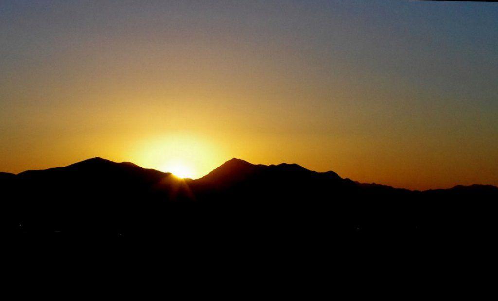 Simple Sunset Landscapes