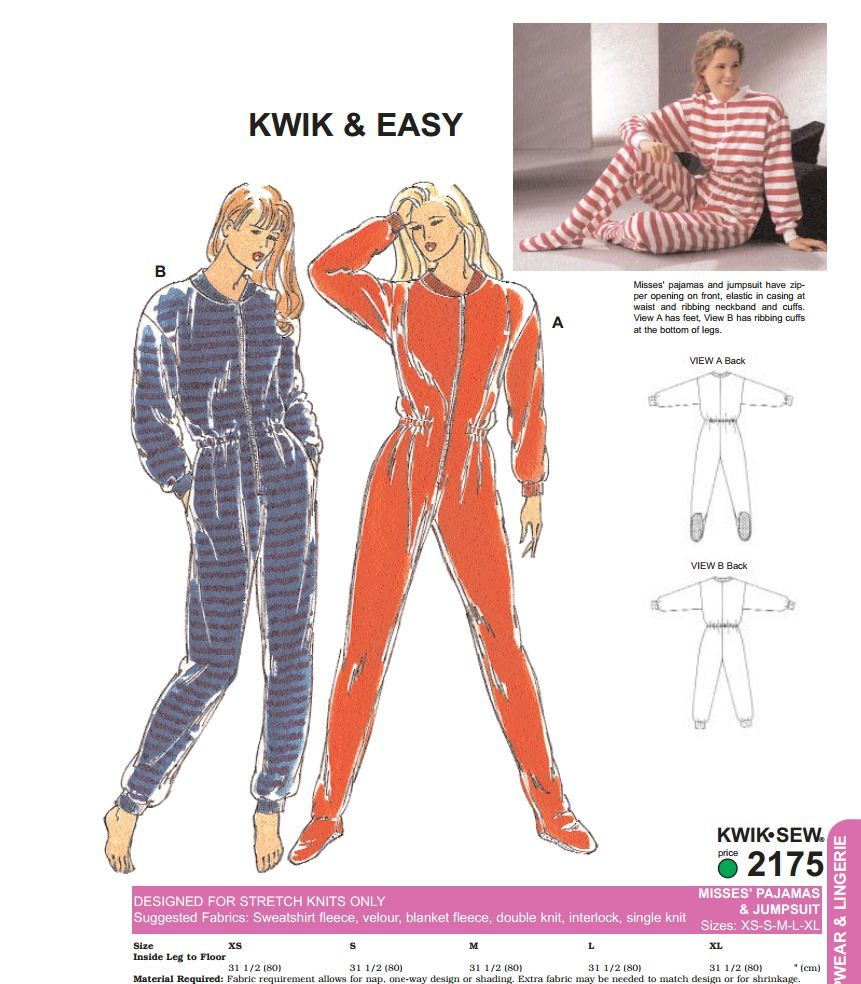 kwik-sew 2175 - Ok, I could mod this to make a Ghostbusters cosplay ...