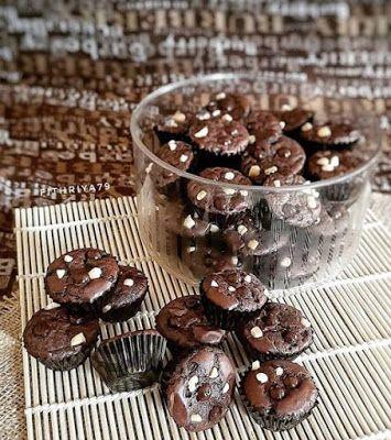 Brownies Kering Kue Kering Mentega Resep Makanan