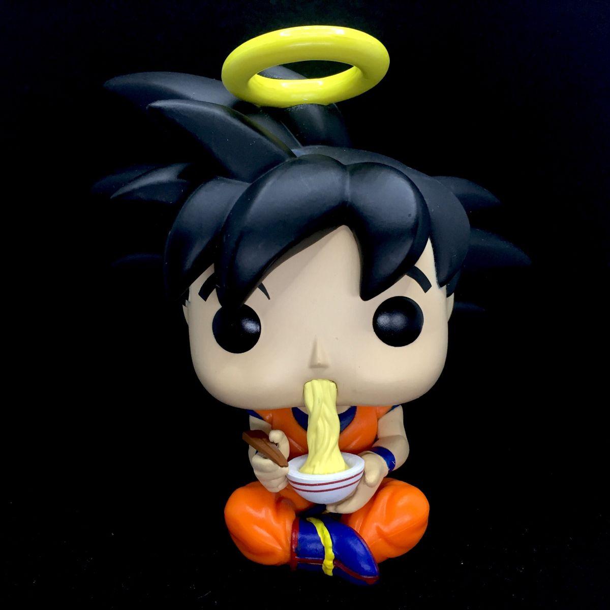 Goku Eating Noodles Dragon Ball Z Dragon Ball Funko Pop