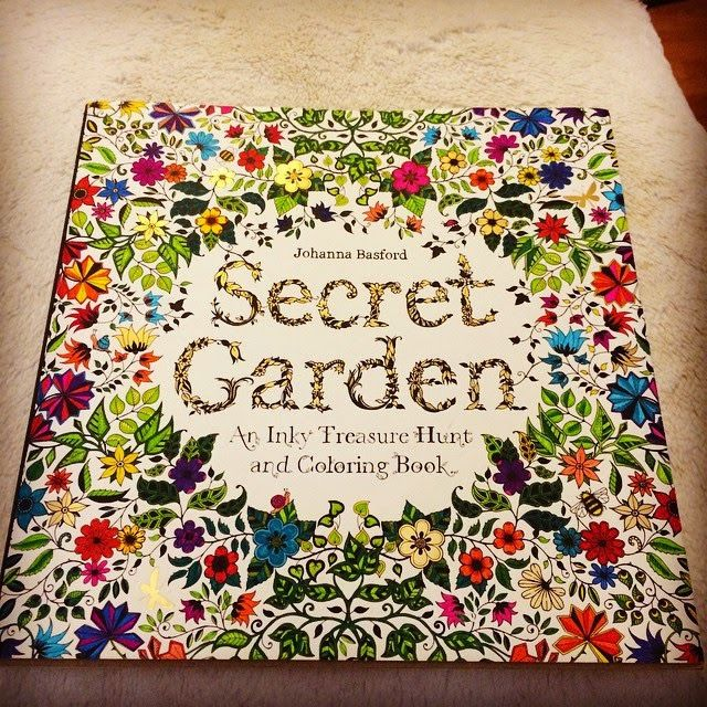 2015 Factory Direct Selling Secret Garden Adult Coloring Book High