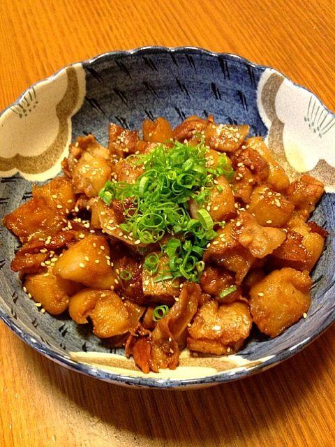 コンニャク美味し♪ - 96件のもぐもぐ - コンニャクと豚バラの甘辛炒め by かま