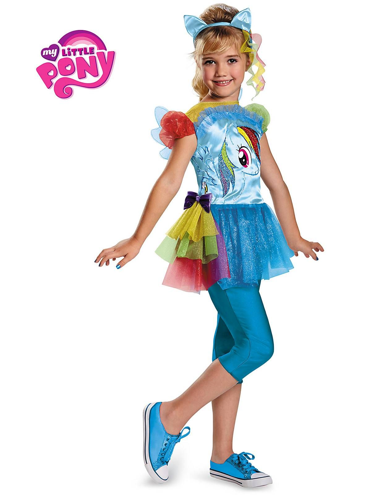 Rainbow Dash Classic Costume | Wholesale TV and Movie Costumes for girls