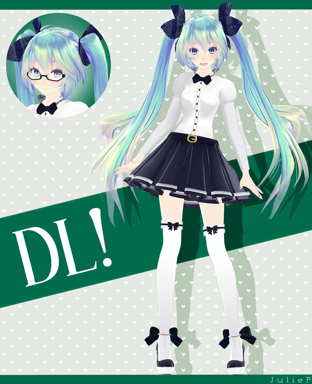 TDA Student Hatsune Miku v2.0 [DOWNLOAD!] update by