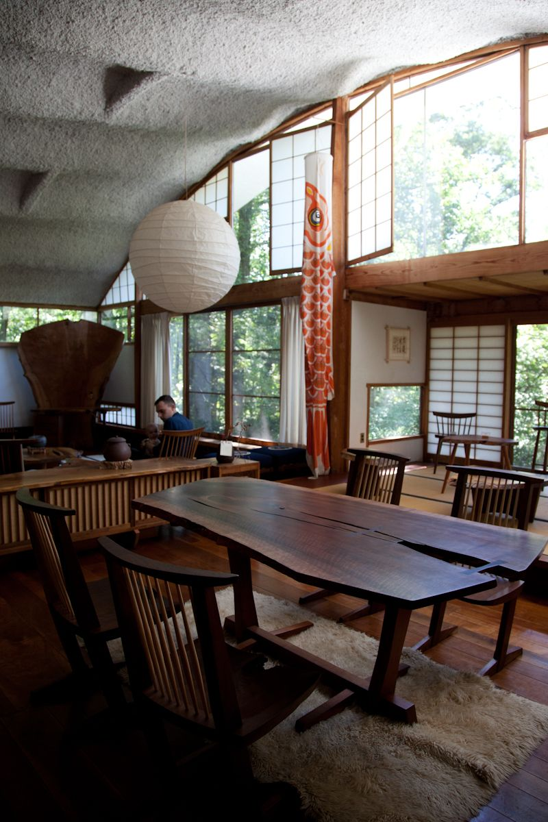 George Nakashima Studio in New Hope, PA. | The Conoid ...