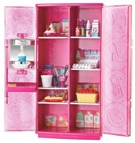 Barbie Treats To TV Refrigerator Set Mattel http://www.amazon.com/dp ...