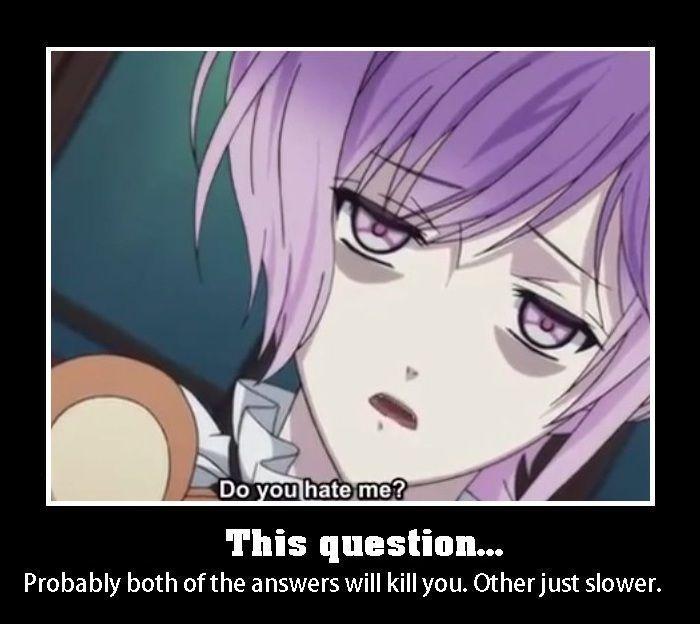 Imagines Diabolik Lovers X Reader Memes S Diabolik Lovers Diabolik Kanato Sakamaki