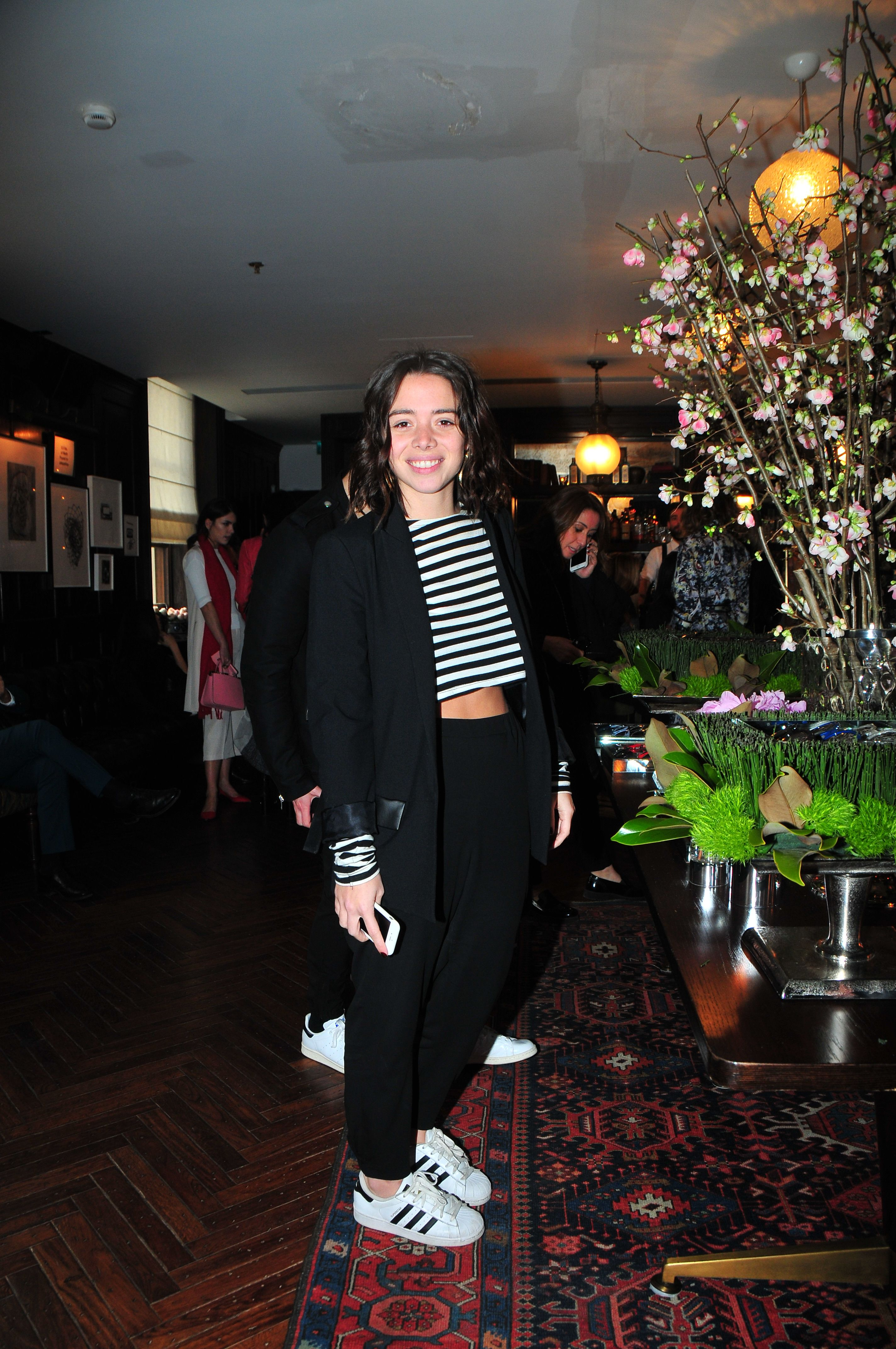 59e38ffcfba Turkish blogger Alara Kap at The PINKO Invasion event in Istanbul ...