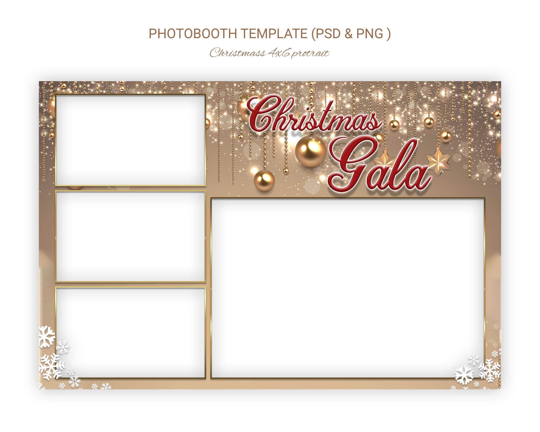 Photobooth Template Golden Wedding Anniversary Gold Photo Etsy Photobooth Template Picture Templates Template Design