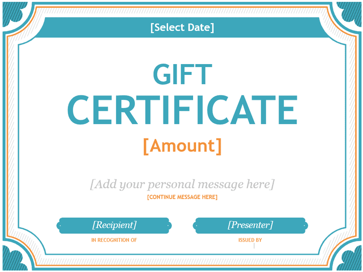 173 Custom Gift Certificate Templates For Every Occassion Free