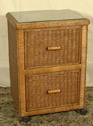 Wicker File Cabinet With Images
