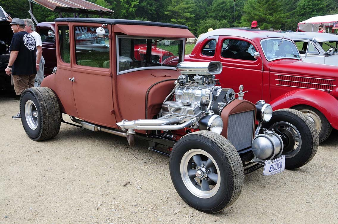 The Jalopy Jam-Up is a Ghostly Place where Traditional Hot Rods and ...
