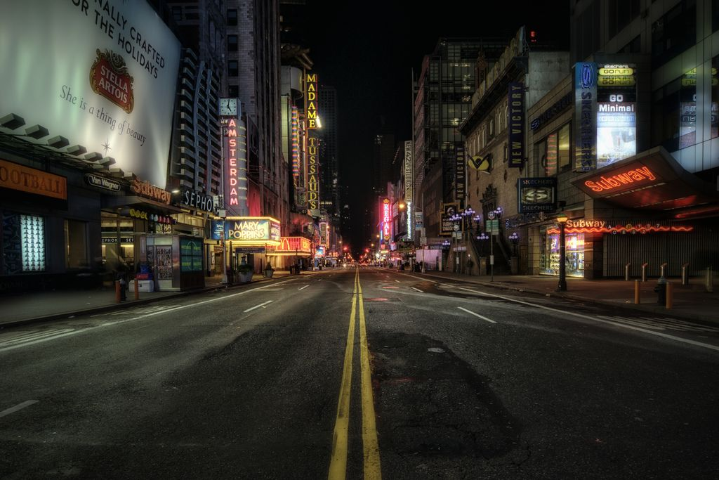 Image result for empty new york city street (avec images)