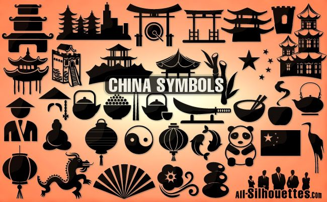 vector china icons