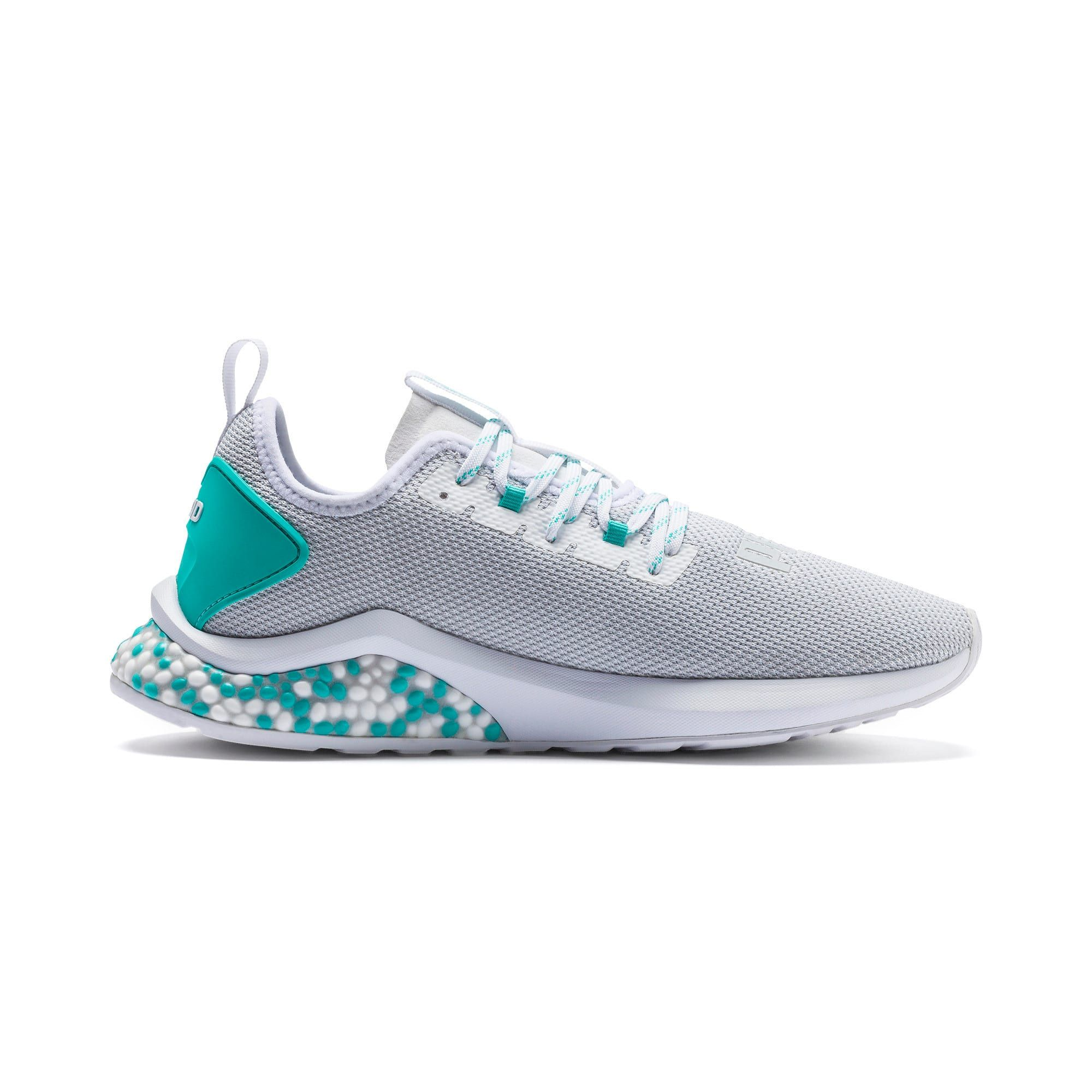 PUMA Hybrid Nx Mens Running Shoes in WhiteBlue Turquoise size 115