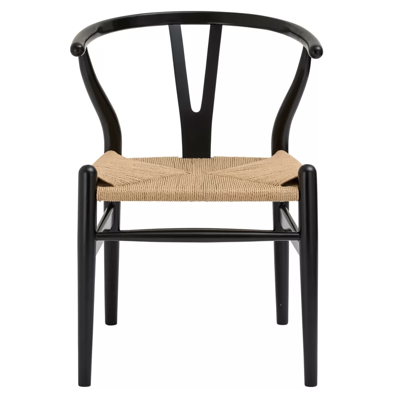 Dayanara Solid Wood Slat Back Dining Chair In 2020 Solid Wood