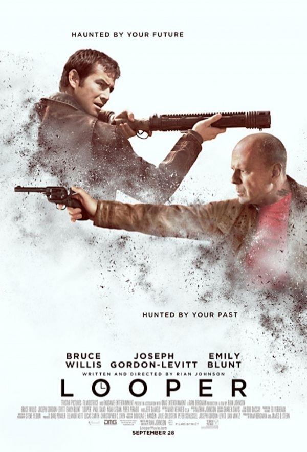 Looper 2012 Movie Posters Design Good Movies Movie Posters