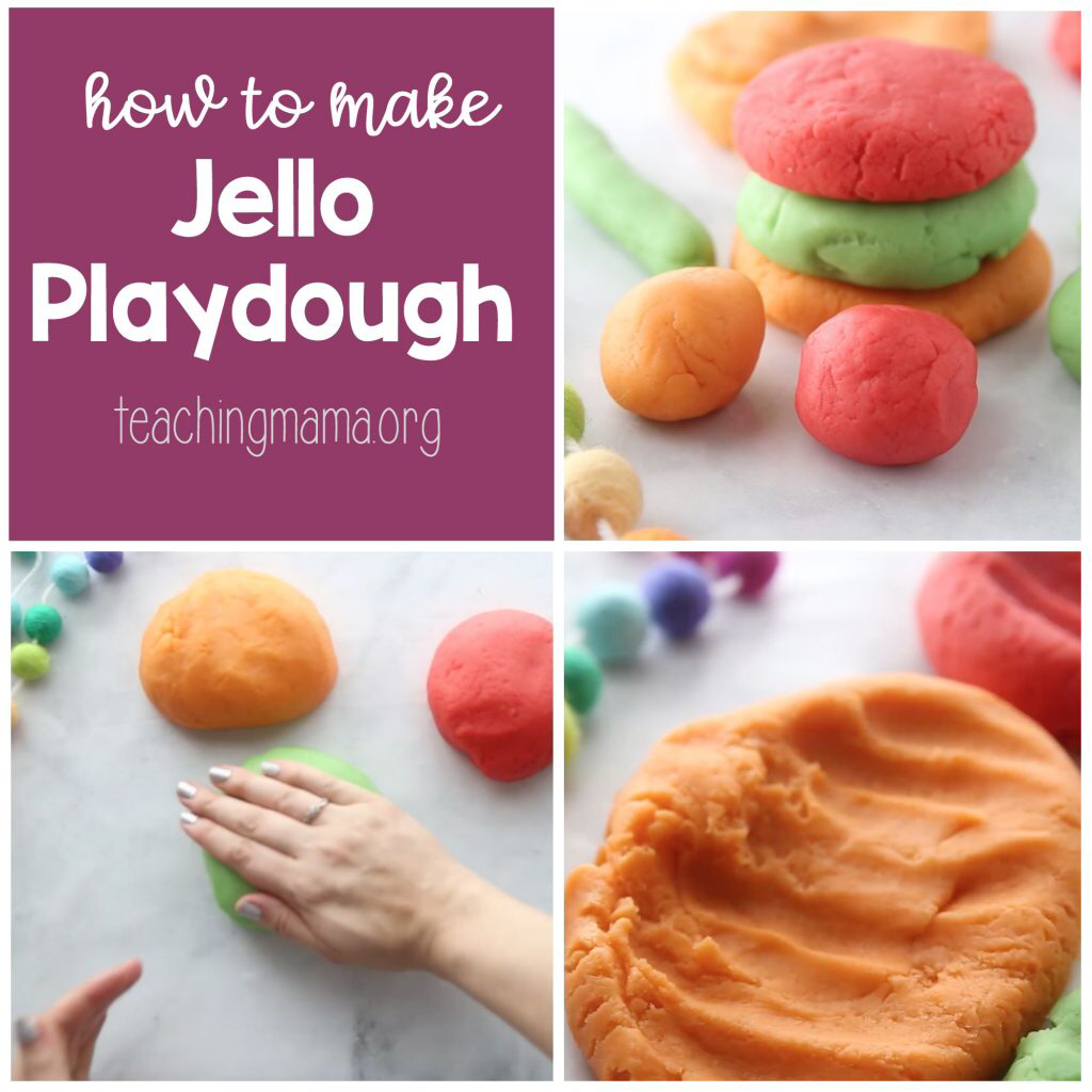 How To Make Jello Playdough