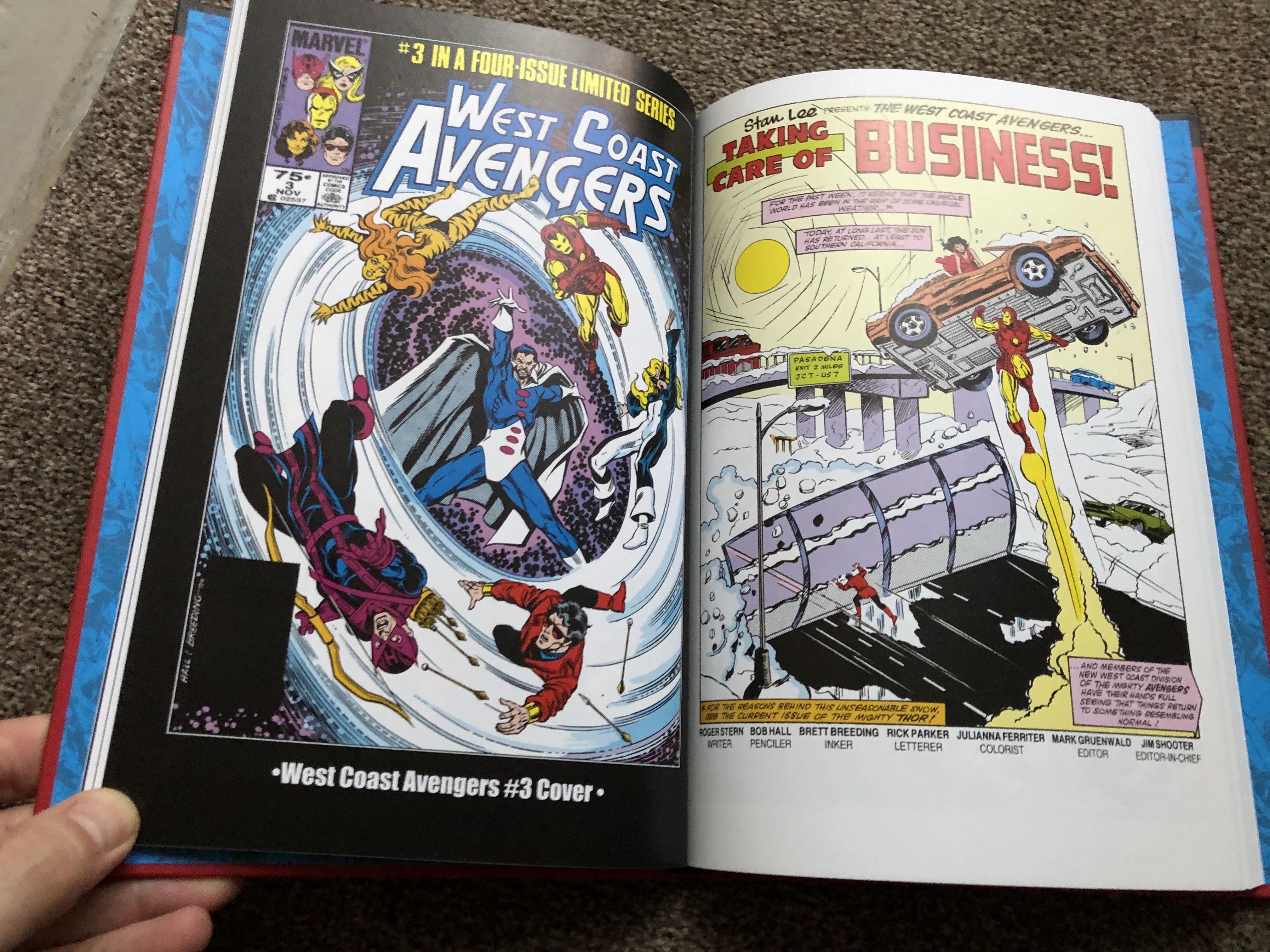 79 West Coast Avengers Marvel S Mightiest Heroes Graphic Novel Hachette Partworks 2nd Series Graphic Novel Marvel Avengers