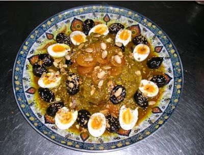 طاجين اللحم بالبرقوق Morrocan Food Moroccan Food Food And Drink