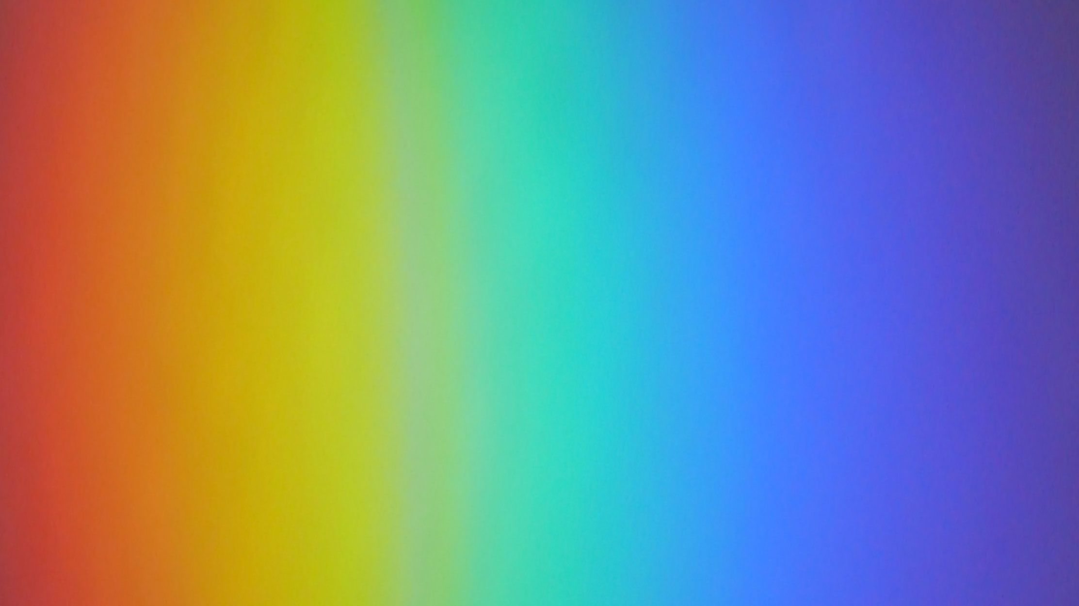 Rainbow Colours On My Kitchen Wall As Beamed From A