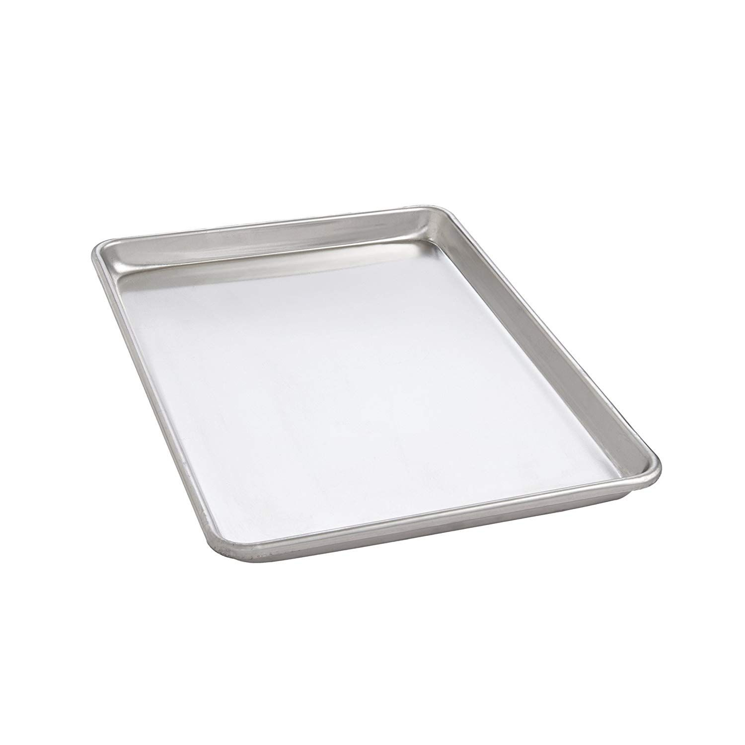 Mrs Anderson S Baking 31816 Mrs Andersona S Heavyweight Big Sheet Baking Pan Commercial Grade 19 Gauge Aluminum 16 X 22 Inches Baking Pans Pan Bakeware