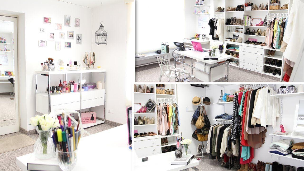 office closets. Closet/Office Tour ♥ Office Closets