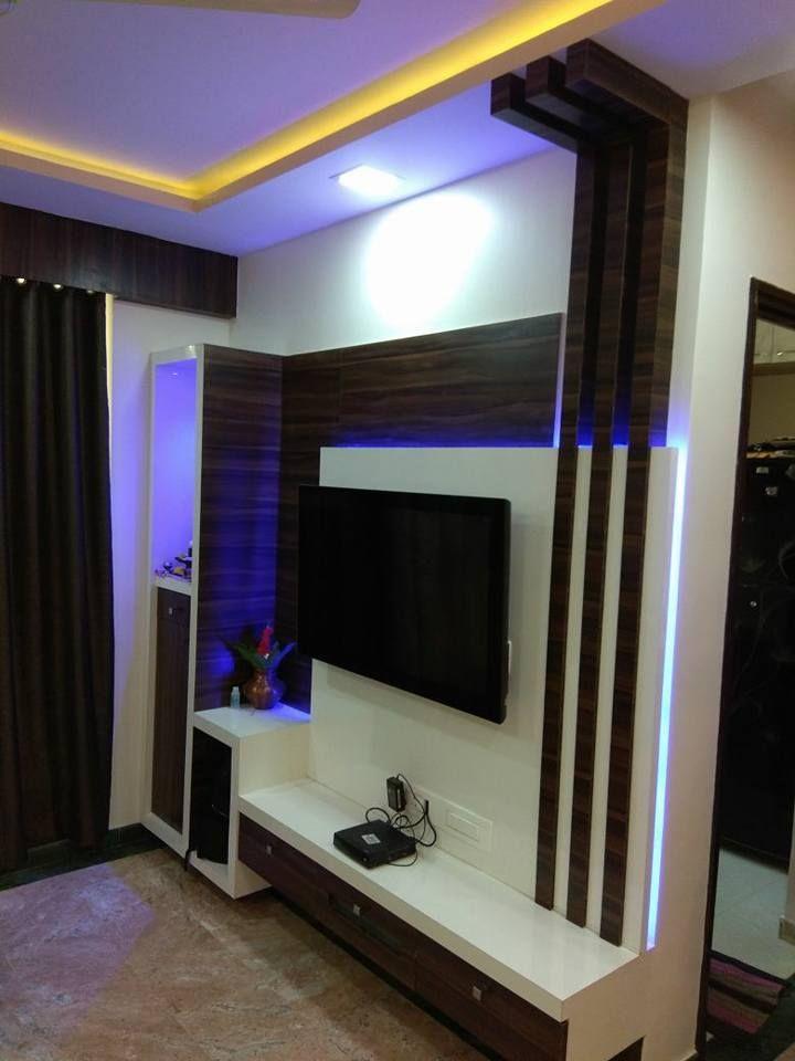 Living Room Interior Designs Tv Unit: Tv Wall Unit Design 2018