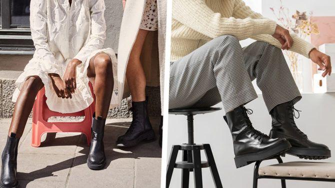 Anfibi 2020: i combat boots con platform sono più cool dell'autunno