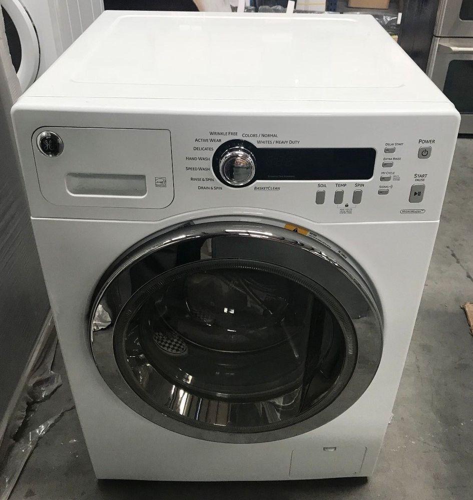 Ge 2 2 Doe Cu Ft Frontload Washer White Wcvh4800k2ww Ge