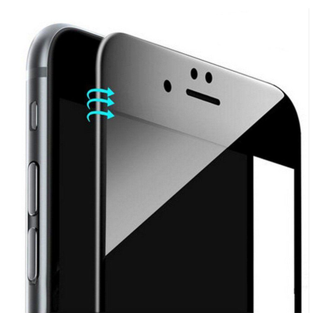 13dc2e4fb1e 9 H 3D Cubierta Del Teléfono Móvil de Vidrio Templado Curvado Borde  Completo protector de pantalla frontal la película protectora para iphone 6/ 6 s 6 plus 7 ...