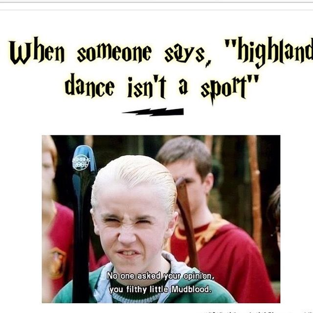 Omg This Is Highland Dance And Harry Potter Highland Dance
