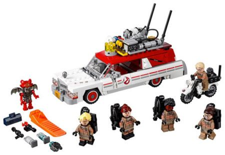 #Ghostbusters by #Lego. #Ecto1 #Ecto2
