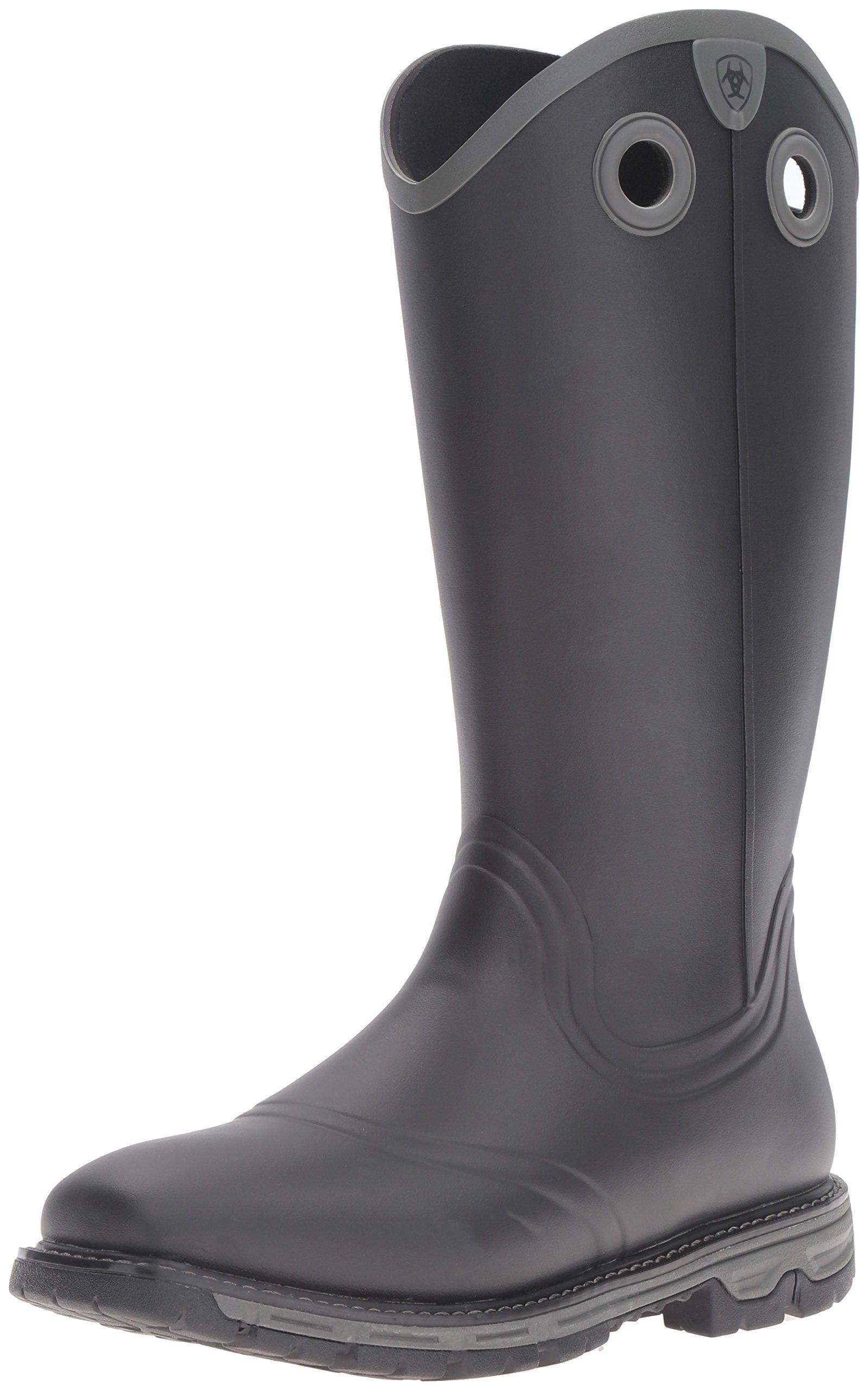 55104d7ec2206 Ariat Men's Conquest Rubber Buckaroo Insulated Hunting Boot, Black, 11 D US