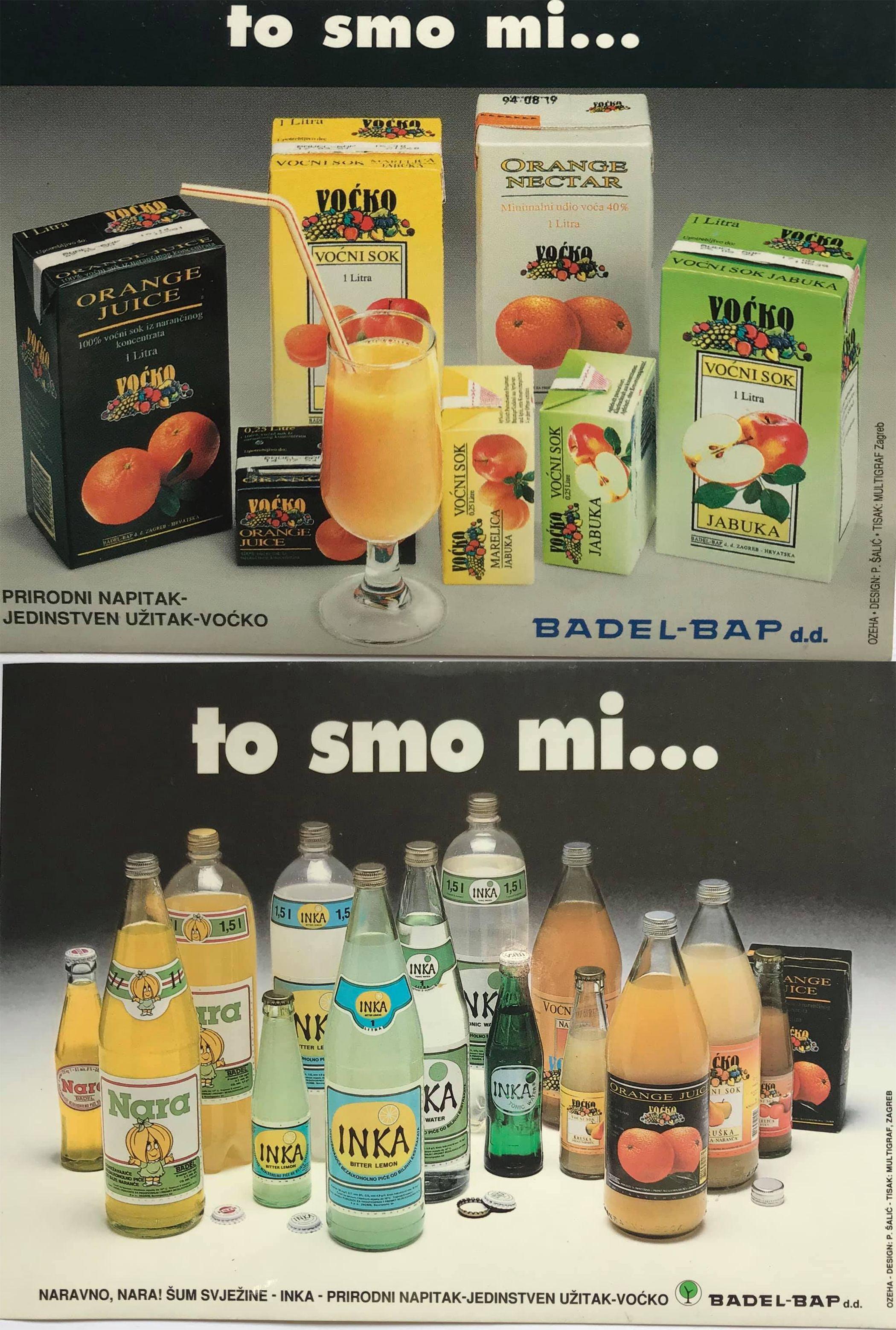 Famous Designers Of Ozeha Petar Salic For Badel Advertising Material Packaging Design Design