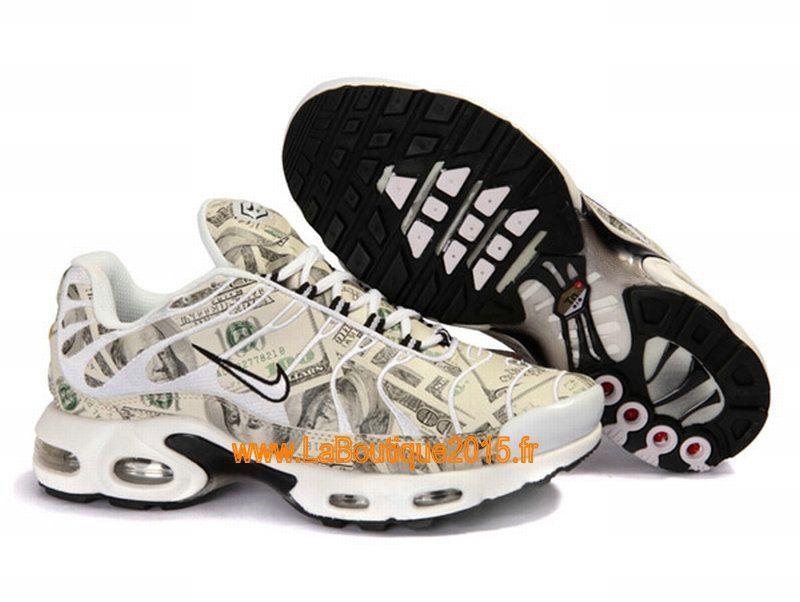 ca72b7d3a148 Nike Air Max Tn Requin Tuned 1 Chaussures Nike Tn Pas Cher Pour Homme Blanc  Noir
