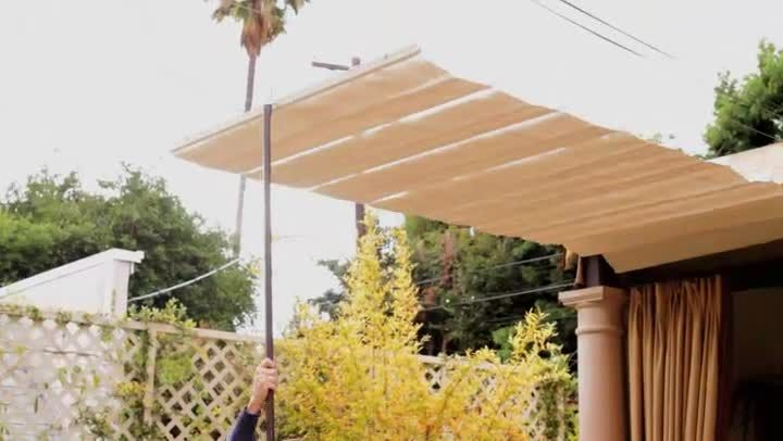 Pin By Cecilia On Haus Canopy Outdoor Patio Shade Retractable Canopy