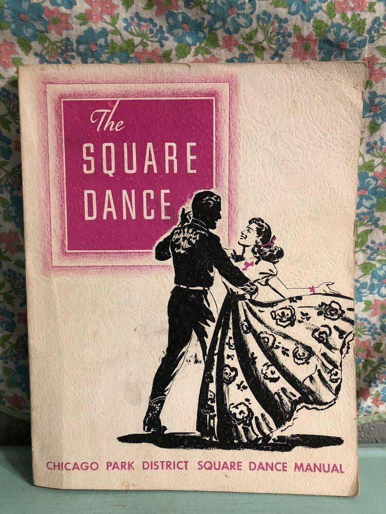 Vintage Chicago Park District Square Dance Manual 1950s ...