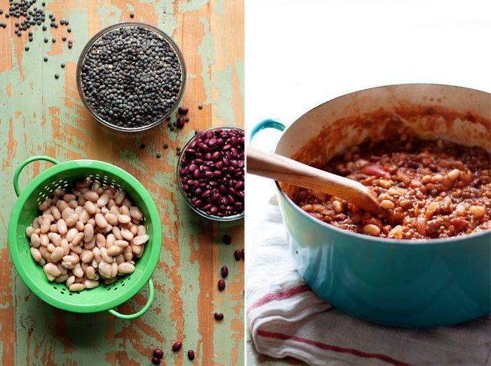 Hearty Marinara Sauce with Lentils & Beans